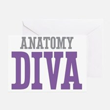 Anatomy DIVA Greeting Card