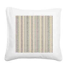 Earth Rain Pattern Square Canvas Pillow