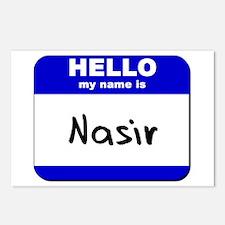 hello my name is nasir  Postcards (Package of 8)