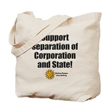 Support Separation iPhone Tote Bag