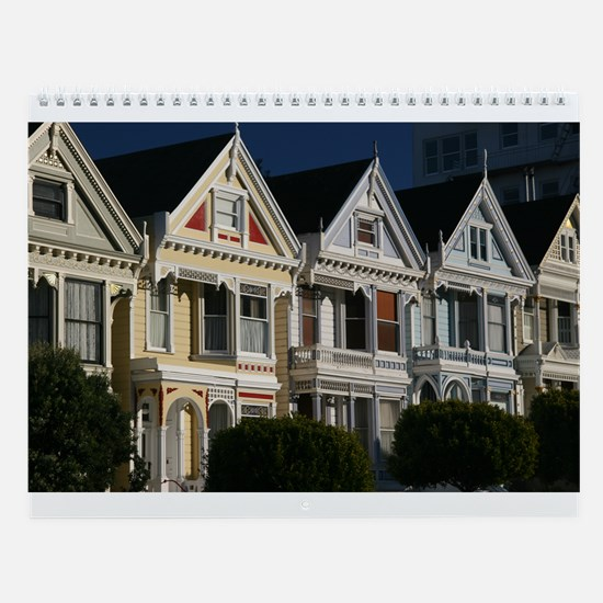 Vertical San Francisco Wall Calendar