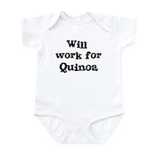 Will work for Quinoa Infant Bodysuit