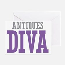 Antiques DIVA Greeting Card