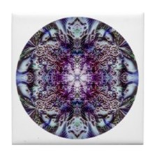 mandala 13 Tile Coaster