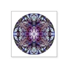 "mandala 13 Square Sticker 3"" x 3"""