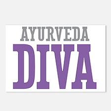 Ayurveda DIVA Postcards (Package of 8)