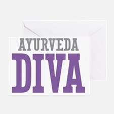 Ayurveda DIVA Greeting Card