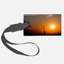 Desert Sunrise Luggage Tag