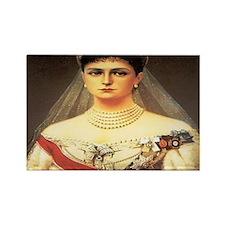 Alexandra Feodorovna Rectangle Magnet