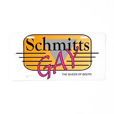 Schmitts Gay Aluminum License Plate