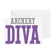 Archery DIVA Greeting Card
