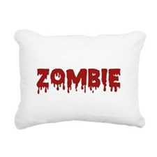 ZombieChase1F Rectangular Canvas Pillow