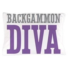Backgammon DIVA Pillow Case