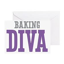 Baking DIVA Greeting Card