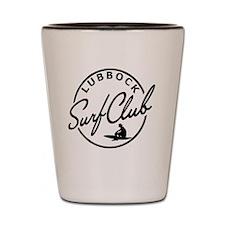 Lubbock Surf Club Shot Glass