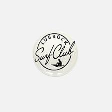 Lubbock Surf Club Mini Button