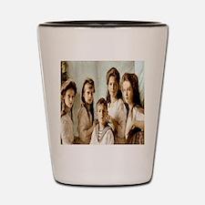 Romanov Children Shot Glass