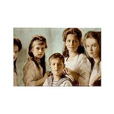 Romanov Children Rectangle Magnet