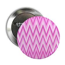 "3 Tone Pink Chevrons 8 2.25"" Button"