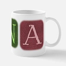 CNA Denim Look Squares Mug