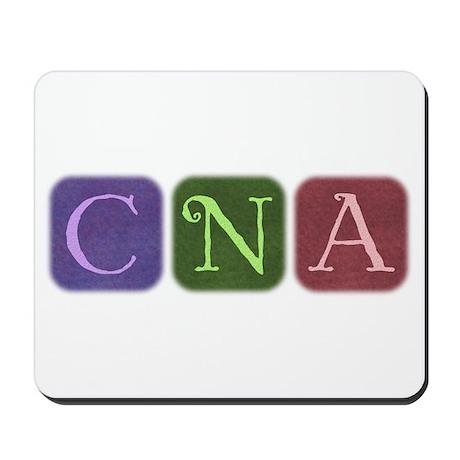 CNA Denim Look Squares Mousepad