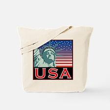 New York USA Statue of Liberty America Tote Bag
