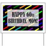 60th birthday Yard Signs