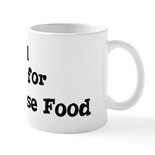 Will work for Vietnamese Food Mug