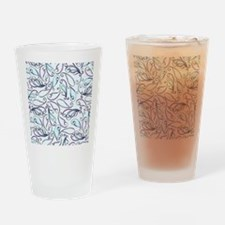 Crazy For Paisley – Blue Drinking Glass