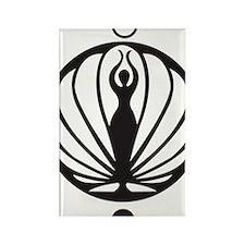 Kawakib logo Rectangle Magnet