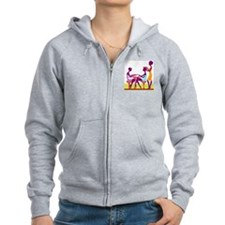 Day of Beauty Zip Hoody