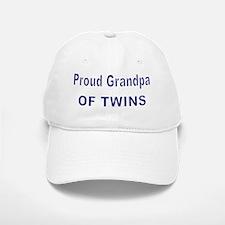PROUD GRANDPA OF TWINS 2 Baseball Baseball Cap