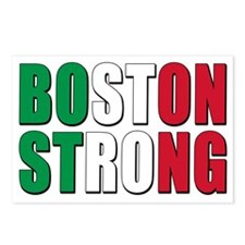 italian Boston Strong Postcards (Package of 8)