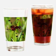 ELISA SKIMMER Dragonfly Drinking Glass