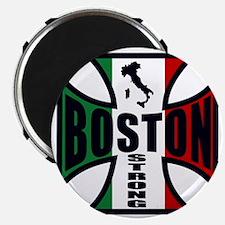 Italian Boston strong Magnet