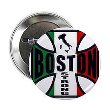 """Italian Boston strong 2.25"""" Button"""