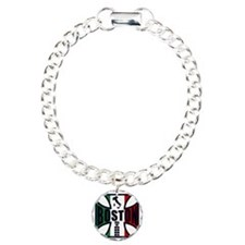 Italian Boston strong Charm Bracelet, One Charm