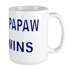 PROUD PAPAW OF TWINS Mug