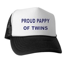 PROUD PAPPY OF TWINS 2 Trucker Hat