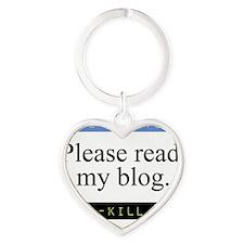 Please read my blog. RKM Logo Heart Keychain