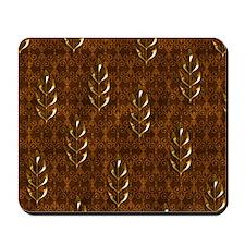 Gold Leaves Mousepad