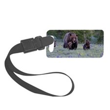Grizzly Bear# 399  Triplets, Jun Luggage Tag