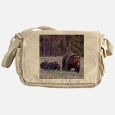 Grizzly Bear 399 Messenger Bag