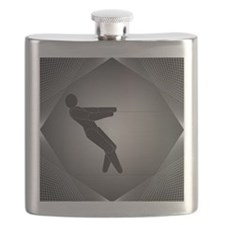 Waterskiing Flask