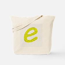 1000 Digits of e Tote Bag