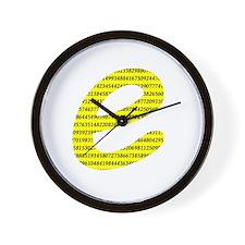 1000 Digits of e Wall Clock