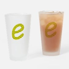 1000 Digits of e Drinking Glass