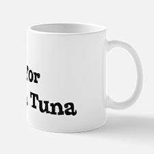 Will work for Yellowfin Tuna Mug