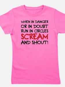 Danger Doubt Scream & Shout Girl's Tee