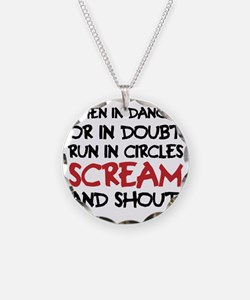 Danger Doubt Scream & Shout Necklace